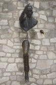 """""""Le Passe-Muraille"""", Montmartre, Paris — Stock Photo"""