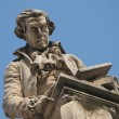 Statue of Luigi Galvani, Bologna, Italy — Stock Photo #28084105