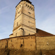 Fortified saxon church of Rotbav, Brasov, Transylvania — Stock Photo