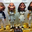 Abba puppetts — Stock Photo