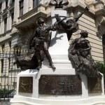 Monument of Eugeniu Carada, Bucharest — Stock Photo #30102513
