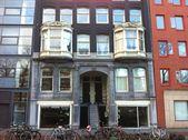 Visita de Amesterdão — Fotografia Stock