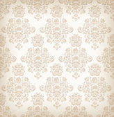 Seamless floral retro pattern. — Stock Vector