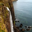 Kilt Rock and Mealt waterfall — Stock Photo