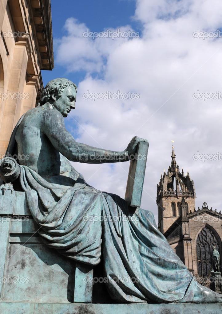 大卫雕像休谟, 爱丁堡