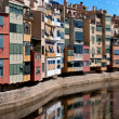 Girona cityscape, Spain - Stock Photo