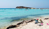 Sandy Beach, Cyprus — Stock Photo