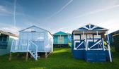 Beach huts , Whitstable — Stock Photo