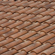 Roof clay  tiles — Stock Photo