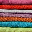 Bathroom towels — Stock Photo