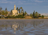 Hala Sultan Tekke — Stock Photo