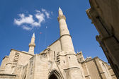 Catholic cathedral of Ayia Sofia, Nicosia — Stock Photo