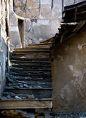 Abandoned damaged stairs — Stock Photo