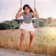Swing ride — Stock Photo