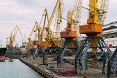 Ship in seaport — Stock Photo