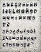 3d typography — Stock Vector