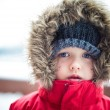 Boy at winter — Stock Photo