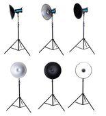 Photo studio equipment beauty dish isolated — Stock Photo