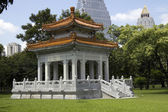 Chinese Pavilion, Lumphini Park, Bangkok — Stock Photo