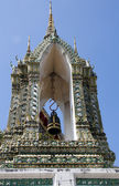 Temple bell tower, Wat Po, Bangkok — ストック写真