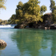 Manavgat waterfall, Antalya Province, Turkey — Stock Photo #19645779