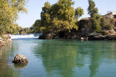 Manavgat waterfall, Antalya Province, Turkey — Stock Photo