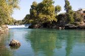 Manavgat waterfall, Antalya Province, Turkey — Stock Photo