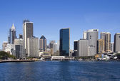 Sydney Central Business District from the Harbour — Stock Photo