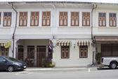 Sino Portuguese architecture in Phuket Town — Stock Photo