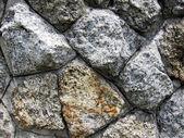 Trama di sfondo muro di pietra — Foto Stock