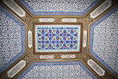 Ceiling in the Topkapi, Palace, Istanbul, Turkey — Stock Photo