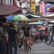 KUALLUMPUR, MALAYSIDEC 18TH: Petaling Street on Dec 18th 201 — Stock Photo #25473311