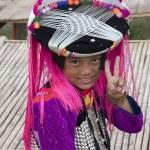 CHIANG MAI, THAILAND - NOV 15TH: Unidentified girl from the Lisu — Stock Photo #25473923