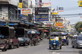 BANGKOK, THAILAND OCT 5TH: Chinatown on October 5th 2012. Many s — Stock Photo