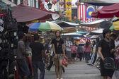 KUALA LUMPUR, MALAYSIA DEC 18TH: Petaling Street on Dec 18th 201 — Stock Photo