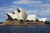 Opera House, Sydney viewed from the west — Stock Photo