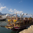 Stock Photo: Tourist boat in Kyrenia