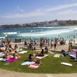 NORTH BONDI BEACH, AUSTRALIA - Mar 16TH: relaxing on the — Stock Photo