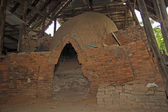 Old brick kiln — 图库照片