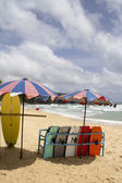 Surfboards on Surin beach — Stock Photo
