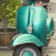 Green scooter — Stock Photo #29581243