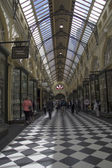 MELBOURNE, AUSTRALIA MAR 18TH: The Royal Arcade in Melbourne on — Stock Photo