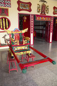 Chinese sedan chair — Stock Photo
