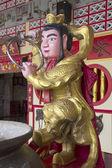 Chinesische figur am schrein — Stockfoto
