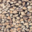 wood stack — Stock Photo