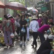 Stock Photo: HO CHI MINH CITY,VIETNAM-NOV 5TH: A busy early morning street ma
