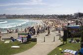 Sydney, Australia-March 16th 2013: Bondi Beach viewed from the n — Stock Photo