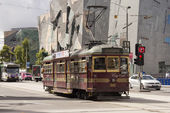 City circle tram — Stock Photo