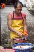 Fishmonger — Stock Photo