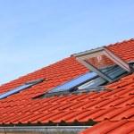 ventana tejado — Foto de Stock